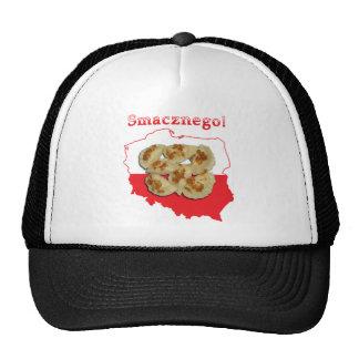 Pierogi Smacznego Polish Map Trucker Hat