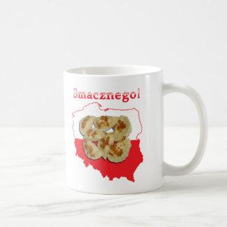 Pierogi Smacznego Polish Map Mug
