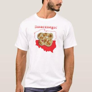 Pierogi Smacznego Polish Map T-Shirt
