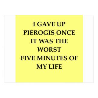 PIEROGIS.jpg Postcard
