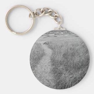 Pierport Beach, Michigan Basic Round Button Keychain