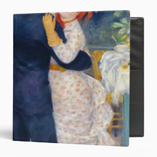 Pierre A Renoir | A Dance in the Country 3 Ring Binder