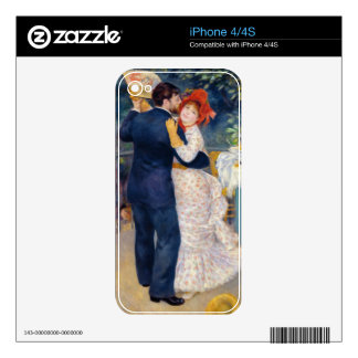 Pierre A Renoir | A Dance in the Country Skin For iPhone 4S