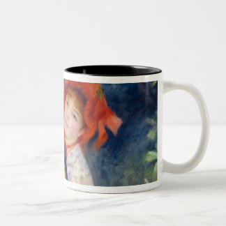 Pierre A Renoir | A Dance in the Country Two-Tone Coffee Mug