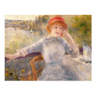 Pierre A Renoir | A. Fournaise at The Grenouillere Postcard