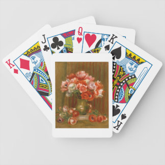 Pierre A Renoir | Anemones Bicycle Playing Cards