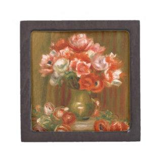 Pierre A Renoir | Anemones Keepsake Box