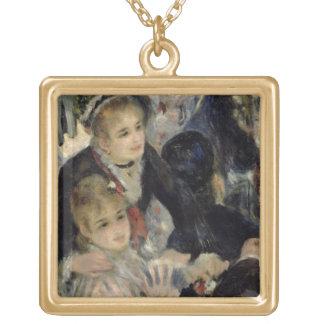 Pierre A Renoir | Ball at the Moulin de la Galette Gold Plated Necklace