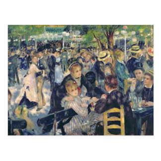 Pierre A Renoir | Ball at the Moulin de la Galette Postcard