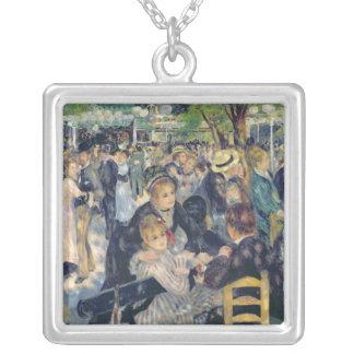 Pierre A Renoir | Ball at the Moulin de la Galette Silver Plated Necklace