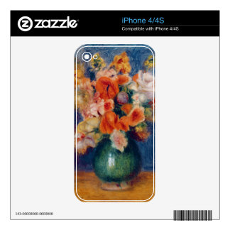 Pierre A Renoir | Bouquet iPhone 4 Decals