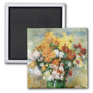 Pierre A Renoir | Bouquet of Chrysanthemums Magnet