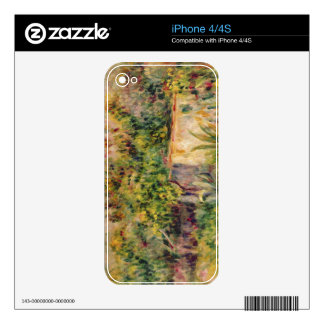 Pierre A Renoir | Cabin in a Clearing in a Wood Decal For The iPhone 4
