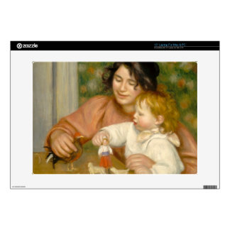 "Pierre A Renoir | Child with Toys 15"" Laptop Skins"