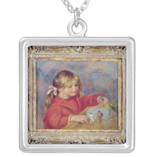 Pierre A Renoir | Claude Renoir at Play Silver Plated Necklace