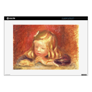 "Pierre A Renoir | Coco at the Table  15"" Laptop Skin"