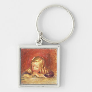 Pierre A Renoir | Coco at the Table  Keychain