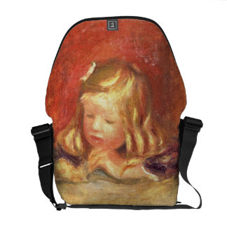Pierre A Renoir | Coco at the Table  Messenger Bag
