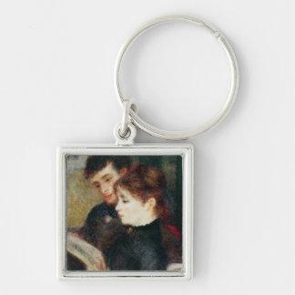 Pierre A Renoir | Couple Reading Keychain