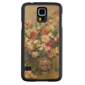 Pierre A Renoir | Dahlias Carved Maple Galaxy S5 Slim Case
