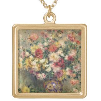 Pierre A Renoir | Dahlias Gold Plated Necklace