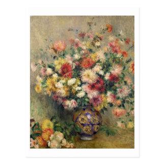 Pierre A Renoir | Dahlias Postcard