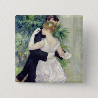 Pierre A Renoir | Dance in the City Button