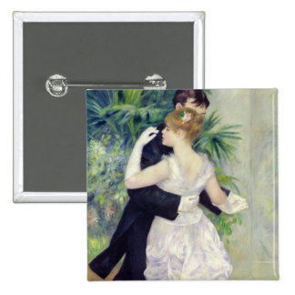 Pierre A Renoir | Dance in the City Button