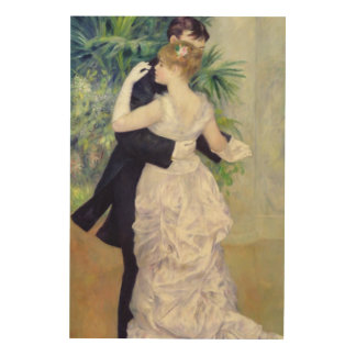 Pierre A Renoir | Dance in the City Wood Wall Decor