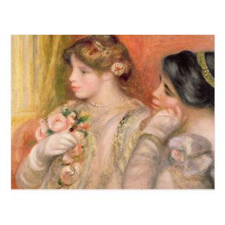 Pierre A Renoir | Dans La Loge Postcard