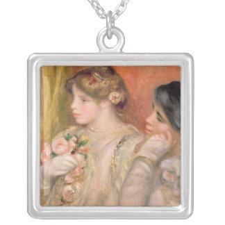Pierre A Renoir | Dans La Loge Silver Plated Necklace