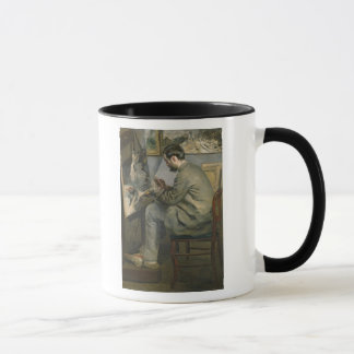 Pierre A Renoir   Frederic Bazille at his Easel Mug