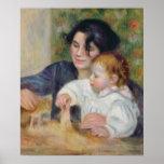 Pierre A Renoir | Gabrielle and Jean Poster