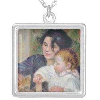 Pierre A Renoir | Gabrielle and Jean Silver Plated Necklace