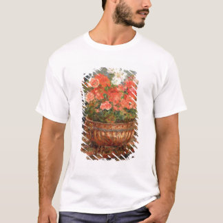 Pierre A Renoir | Geraniums in a Copper Basin T-Shirt