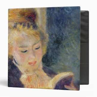 Pierre A Renoir | Girl Reading 3 Ring Binder