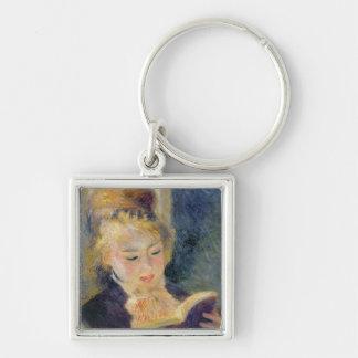 Pierre A Renoir | Girl Reading Keychain