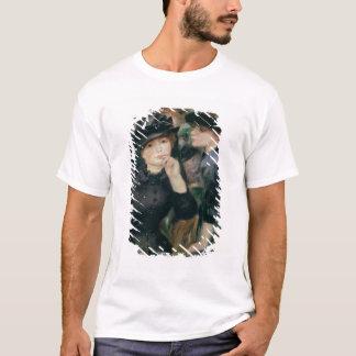 Pierre A Renoir | Girls in Black T-Shirt