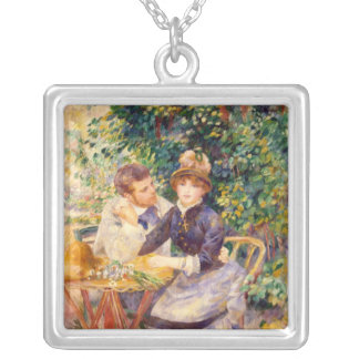 Pierre A Renoir | In the Garden Silver Plated Necklace