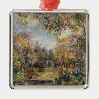 Pierre A Renoir | Landscape at Beaulieu Metal Ornament