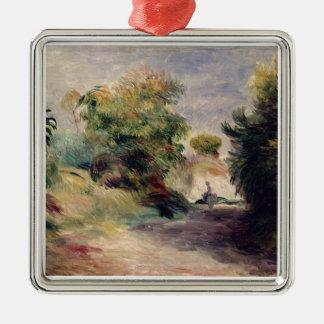 Pierre A Renoir | Landscape near Cagnes Metal Ornament