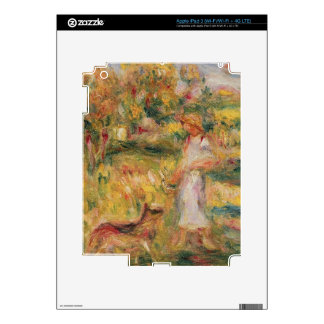 Pierre A Renoir | Landscape with the artist's wife iPad 3 Decals