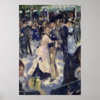 Pierre A Renoir | Le Moulin de la Galette Poster