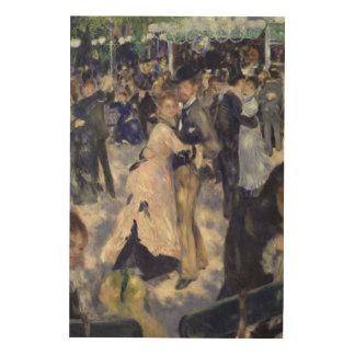 Pierre A Renoir | Le Moulin de la Galette Wood Wall Decor