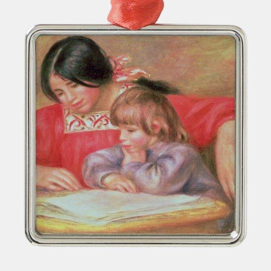 Pierre A Renoir | Leontine and Coco Metal Ornament