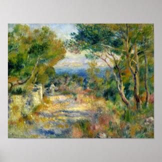 Pierre A Renoir | L'Estaque Poster