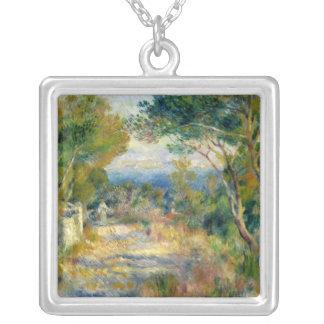 Pierre A Renoir | L'Estaque Silver Plated Necklace