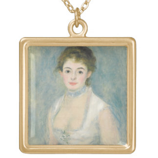 Pierre A Renoir | Madame Henriot Gold Plated Necklace