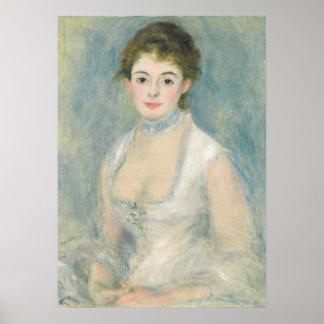 Pierre A Renoir | Madame Henriot Poster