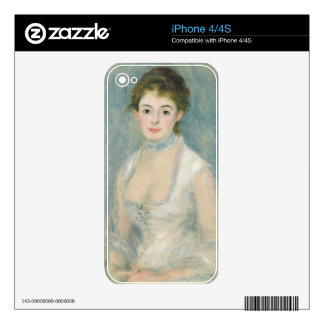 Pierre A Renoir | Madame Henriot Skins For iPhone 4S